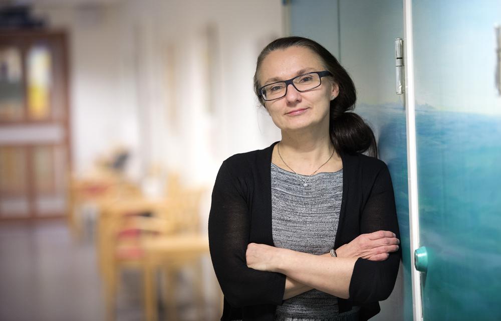 Svetlana Bajalica Lagercrantz, överläkare, docent vid Karolinska Institutet och ST-chef vid onkologkliniken.