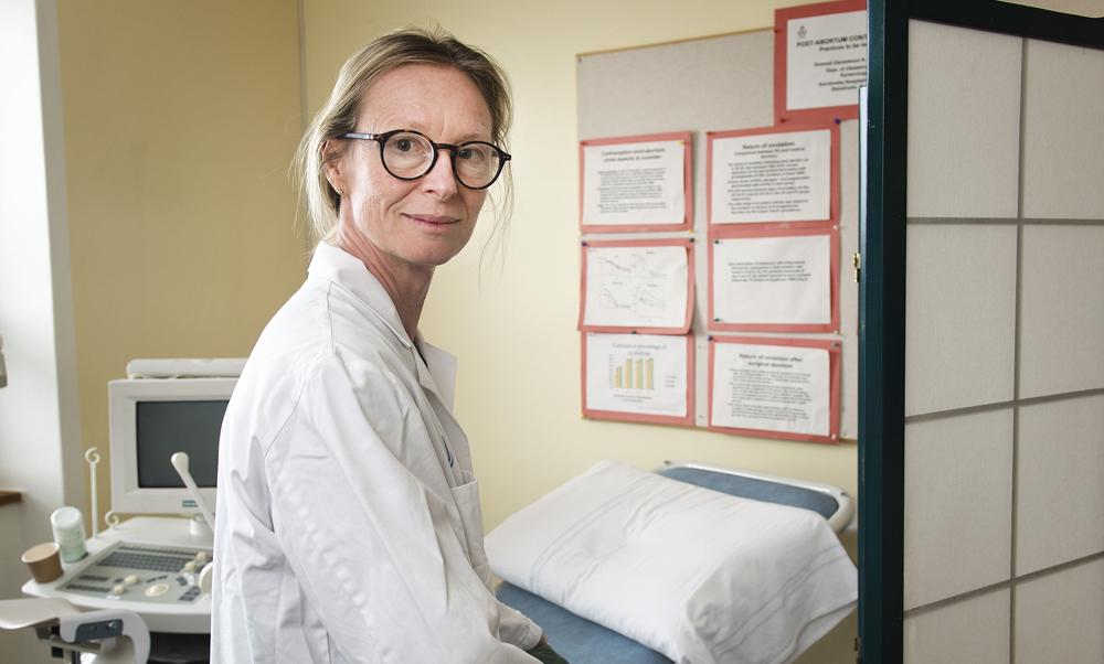 Kristina Gemzell Danielsson, överläkare och professor vid Karolinska Institutet.