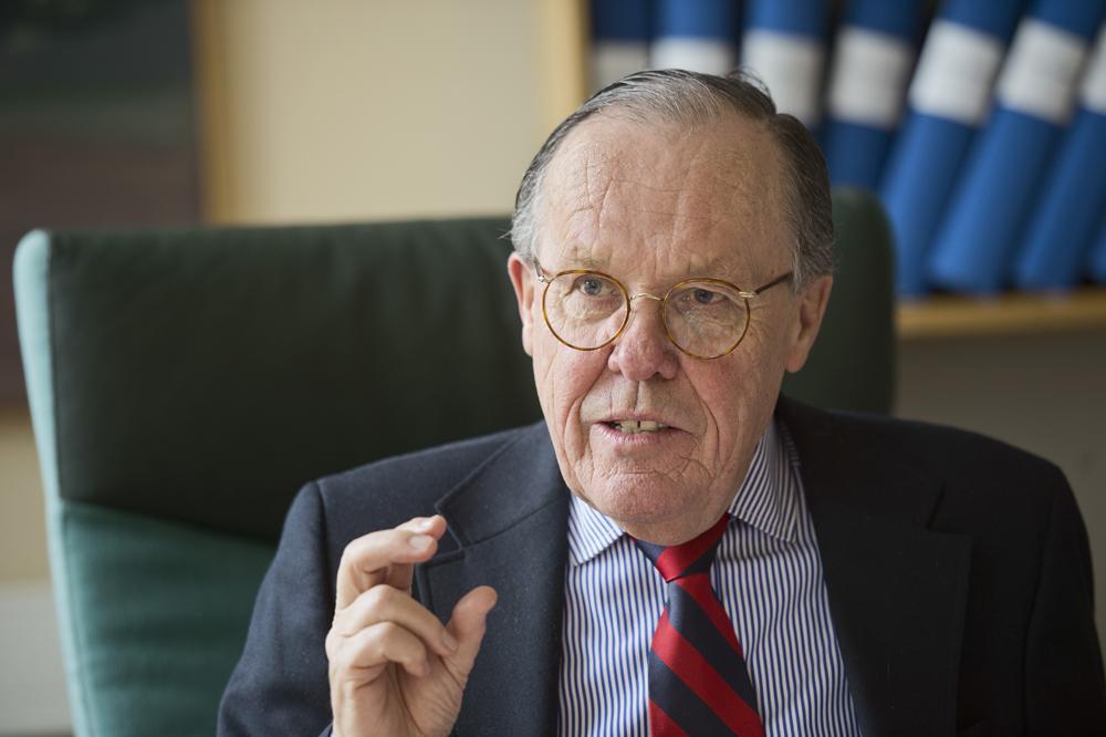Håkan Mellstedt, professor vid Karolinska Institutet. Foto: Håkan Flank