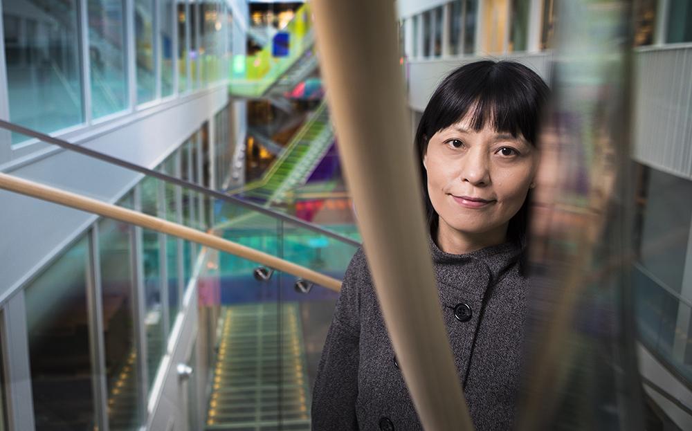 Qiang Pan Hammarström, professor vid Karolinska institutet. Foto: Johan Marklund