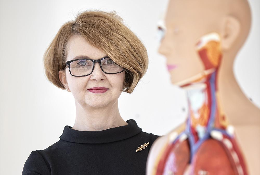 Iuliana Toma-Dasu, professor i medicinsk strålningsfysik vid Stockholms universitet.