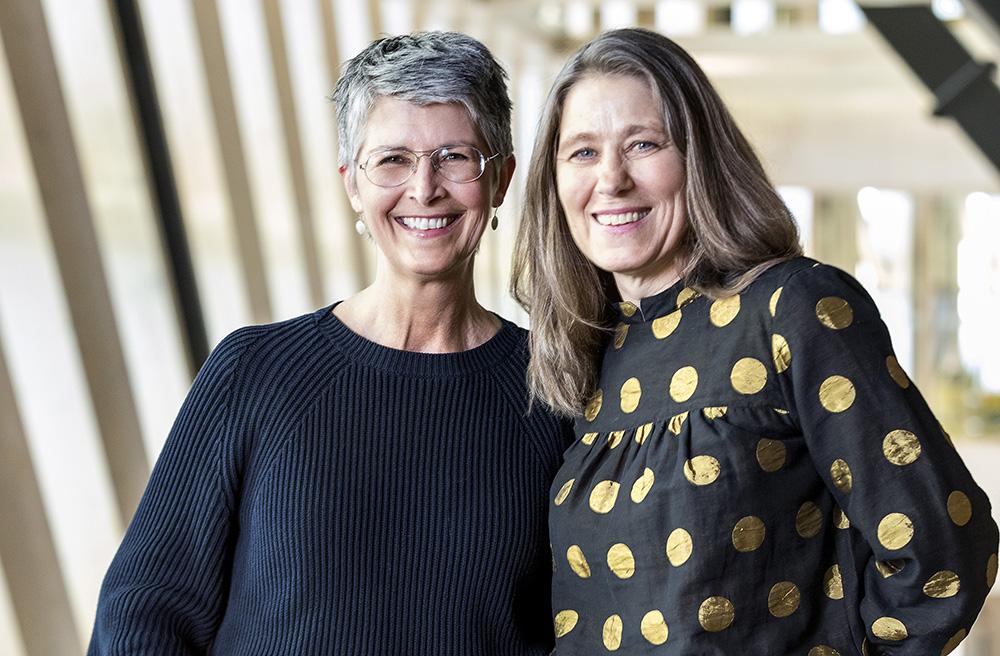 Claudia Lampic och Lena Wettergren, docenter vid Institutionen för kvinnors och barns hälsa, Karolinska Institutet. Foto: Gonzalo Irigoyen