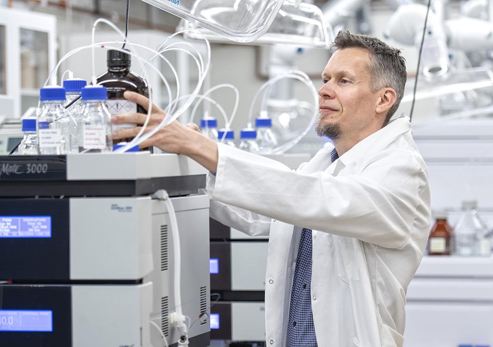 Janne Lehtiö, professor vid institutionen för onkologi-patologi vid Karolinska Institutet.