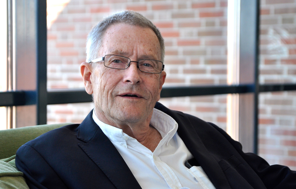Ulrik Ringborg, professor emeritus vid Karolinska Institutet och verkställande  i CCK-stiftelsens styrelse.