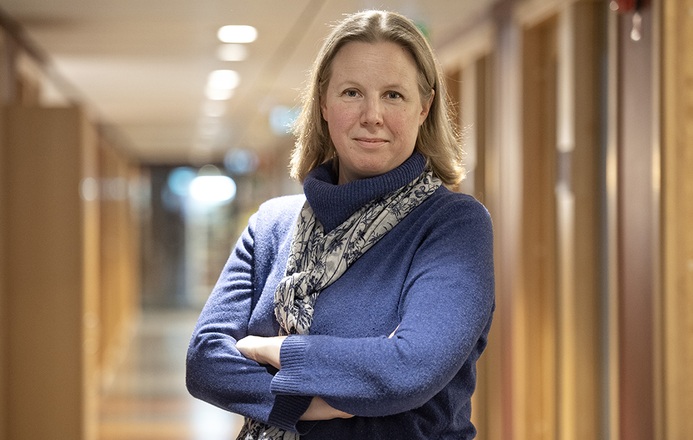 Anna Johansson, biostatistiker och cancerepidemiolog vid KI.