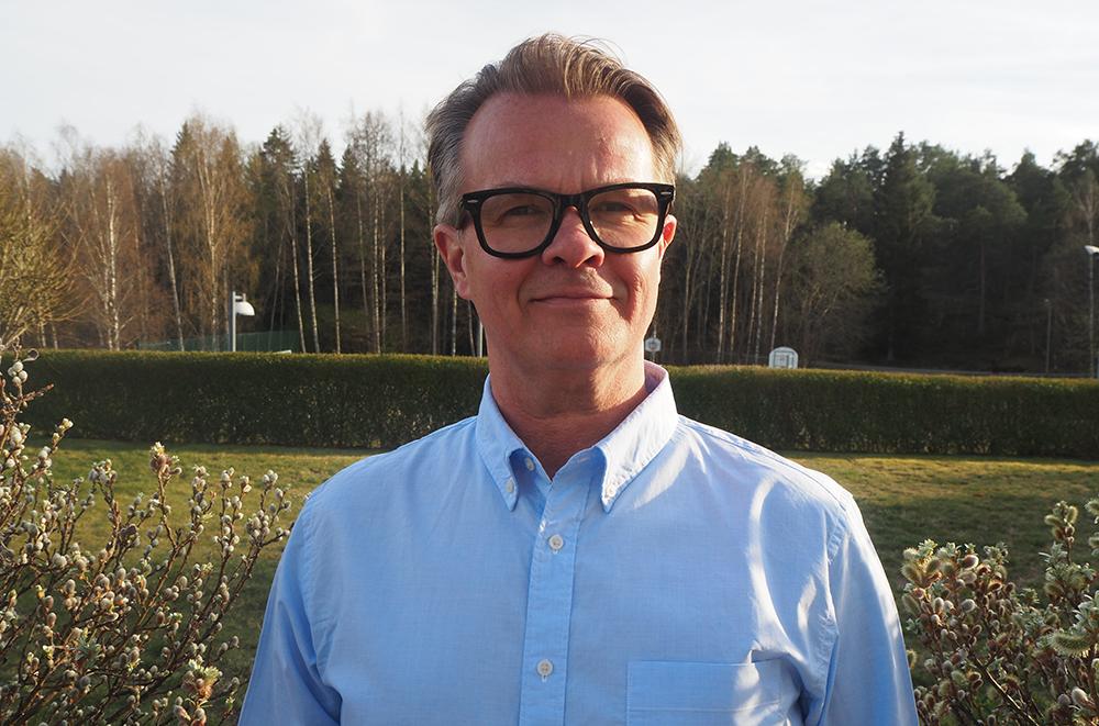 Ulf Rosenholm, nordisk affärsområdeschef på Kite/Gilead.