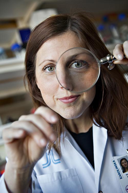 Marianne Farnebo, docent i experimentell onkologi vid KI. Foto: Håkan Flank