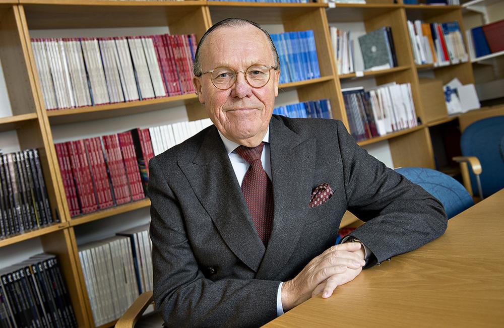 Håkan Mellstedt, professor vid Karolinska Institutet.