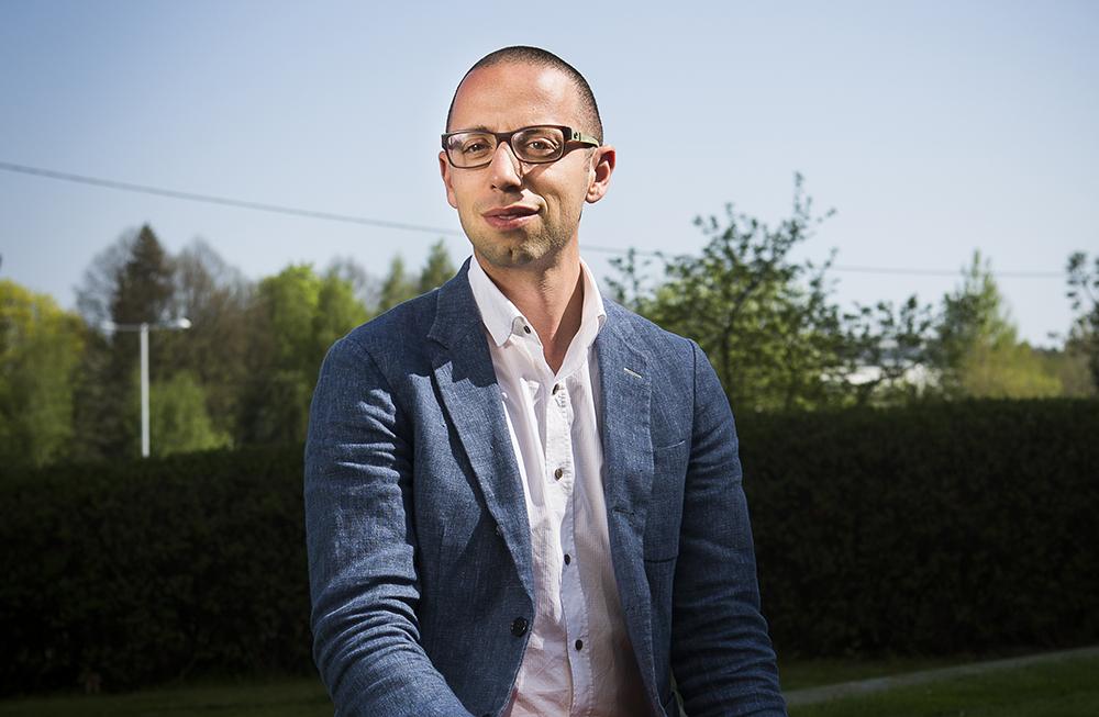 David Alsadius, nordisk medicinsk chef för cellterapier på Novartis. Foto: Johan Marklund