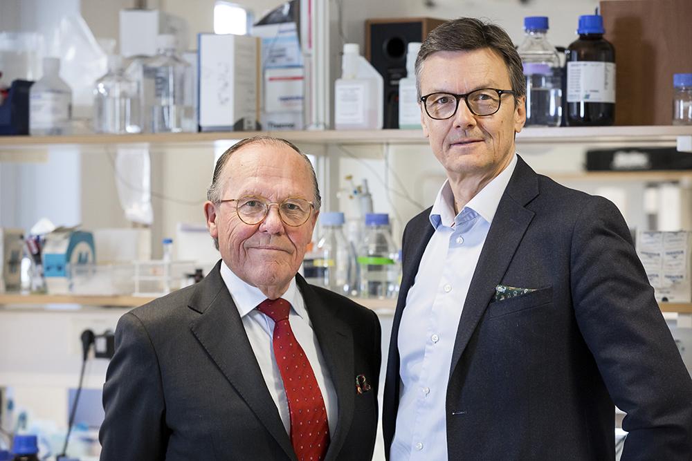 Håkan Mellstedt och Thomas Olin. Foto: Thomas Henrikson